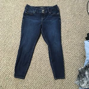 Torrid skinny jeans jogging size 16